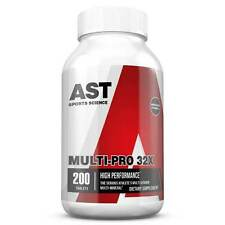 AST Sports MULTI PRO 32X Multi-Vitamin Multi-Mineral 200 caps MUSCLE VITAMINS