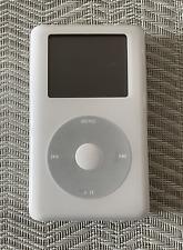 Apple iPod classic 4th Generation White (40 Gb) A1059 - Fair Condition - Read