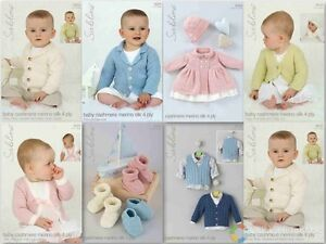 Sublime Baby Cashmere Merino Silk 4 ply patterns 6025-6101 £2.90 each