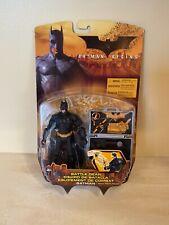 Batman Begins Movie Batman Battle Gear Action Figure 2005 Mattel New in the Box