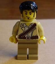 Lego Pharaoh 's Quest-Jake raines personaje figuras Jungle Jack Adventure nuevo