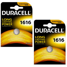 4 x DURACELL CR1616 3v BATTERY 1616 DL1616 L28 BR1616 LITHIUM BUTTON COIL CELL