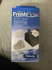 Petmate 5101 Fresh Flow Deluxe Replacement Pump Pet Water Fountain New
