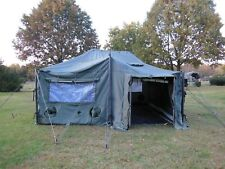 US MILITARY SURPLUS 18x18 MGPTS TENT HUNTING CAMPING+ FLOOR  ARMY TRUCK TRAILER