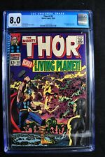 Thor #133 - Marvel Comics - 10/66 - CGC 8.0 - White Pages - Silver Age