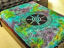 """-Celtic Spiral Multi Color Tapestry 72 x 108"""" Wiccan Pagan Altar Supply #TP63TD"""