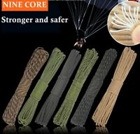 Paracord 550 9 Core Inner Strands Rope Survival Hiking Camping Bracelet Survival