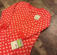 Carter's Footed Pajamas- Owl- Size 4T Slim- So Cute And Nwt