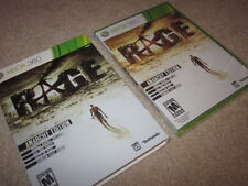 Rage Anarchy Edition + slip cover (Xbox 360/One/X) limited collector, new SEALED