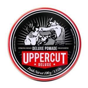 Uppercut Deluxe Pomade Strong Hold High Shine Water-Based Pomade For Men 100g