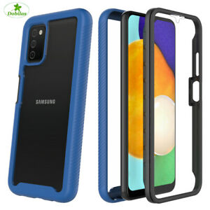 360 Case Full Hybrid Shockproof Phone Cover for Samsung S21 S20 FE A12 A21s A52.