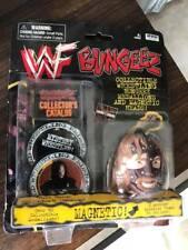 Vintage WWF WWE Bungeez Toy - Mankind Mick Foley version - New on Card