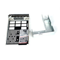 """2.5"""" to 3.5"""" Hard Drive Tray Caddy SATA SAS For Dell POWEREDGE T330 US Seller"""