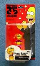 MAGGIE SIMPSON THE SIMPSONS GREATEST GUEST STARS 5 INCH FIGURE NECA SERIES 2