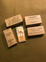 WWII US Army Marine Corps K-Ration Box set Jungle ration, Mountain ration, camel
