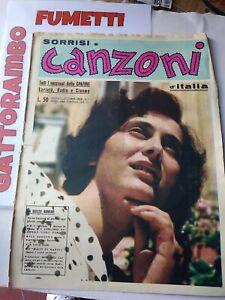Tv Sorrisi e Canzoni d'italia  N.1 assoluto Anno ottobre 1952 - Ottimo