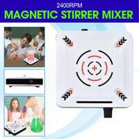 2400RPM Magnetic Stirrer Mixer Plate Stirring 1000ml Machine 25W