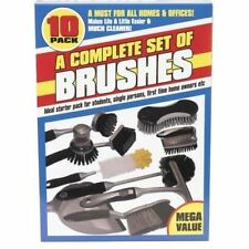 Ensemble Complet Pack de 10 brosses de nettoyage nettoyer Duster outil de lavage nettoyage maison