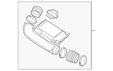Genuine Nissan Duct Assembly 16576-EA200