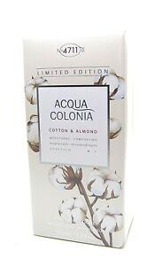 4711 Acqua Colonia Cotton & Almond Eau de Cologne Spray 50 ml