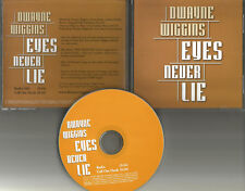 Tony Toni Tone DWAYNE WIGGINS Eyes Never Lie RARE RADIO EDIT PROMO DJ CD Single