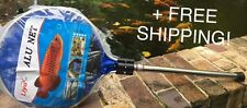 Fish Net 14inch Round Heavy Duty for fish with metal handle +FREE SHIPPING