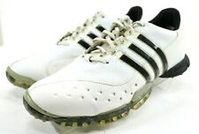 Adidas PowerBand 3.0 Men's $120 Golf Shoes Size 8 White Black