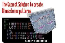 Software FUNTIME Cameo Silhouette, Wishblade, Craftrobo cut  Rhinestone patterns