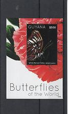 Guyana 2012 MNH Butterflies of World 1v Sheet II White-barred Sister