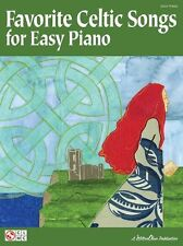 Favorite Celtic Songs For Easy Piano Play Irish Scottish Welsh Music Book SONGS