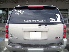3 Decal Set Duck Hunt Scene for Truck Tailgate Window blind or gun safe Sticker