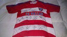 FC DALLAS SIGNED 2013 REPLICA MLS SOCCER JERSEY