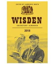 Wisden cricketers almanack 2018 NEW SEALED