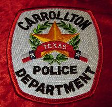Texas - Carrollton Texas Police Department Police Patch