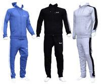 NEW GYM CREW Men Full Tracksuit Set Men Hoodie Jogger Pant Suit