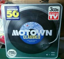 MOTOWN CLASSICS Collector's EDITION 3 CD TIN - BRAND NEW FACTORY SEALED