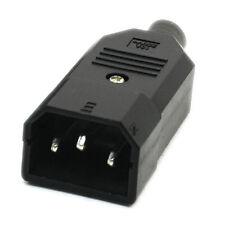 2 Pcs Conception recablable IEC320 C14 Prise d'alimentation Adaptateur WT