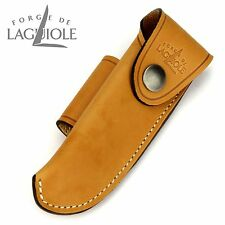 Forge de Laguiole Gürteletui - Leder braun - Etui für ein Taschenmesser 11/12 cm