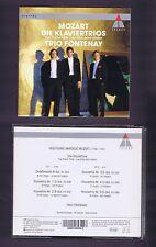 MOZART BOX 2 CDS PIANO TRIOS/ TRIO FONTENAY