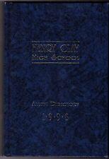 Henry Clay High School Alumni Directory Lexington Kentucky Yearbook Annual '98 F