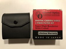 Crystal Optics 'Limited Edition' 37mm video camera filter kit (3-filters)