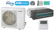 GREE 18,000 BTU SEER 16 Concealed Duct Air Conditioner Cool Heat pump ON SALE