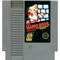 Super Mario Bros. - Nintendo NES Game Authentic