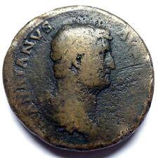 HADRIAN - SESTERTIUS - RARE ROMAN COIN