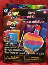 Creative Kids Mini Sand Sculptures Glow Sand Colorful Sand Glows-In-The-Dark