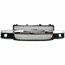 03-15 Chevy Express Van Front Grill New Grille Chrome Composite GM1200535