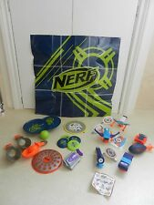 Collection of 12 McDonalds Nerf Toys 2016 & 2017 Kids Happy Meal