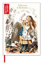 Alice in Wonderland Addresses & Birthday Book