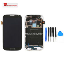 Black For Samsung Galaxy S4 i337 M919LCD Digitizer Touch  Assembly + Frame USA