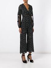 Self Portrait Lace Daisy Dot Jumpsuit Romper Dress Brand New BNWT UK 10 IT 42